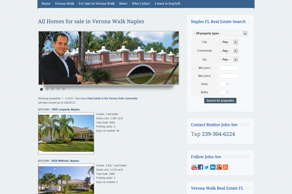 Web Design For Real Estate Has A Big Impact