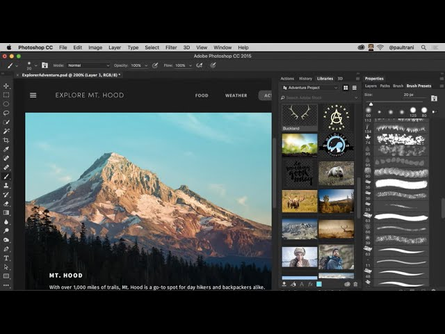 Adobe Photoshop CC 2015 November Release – New Features and