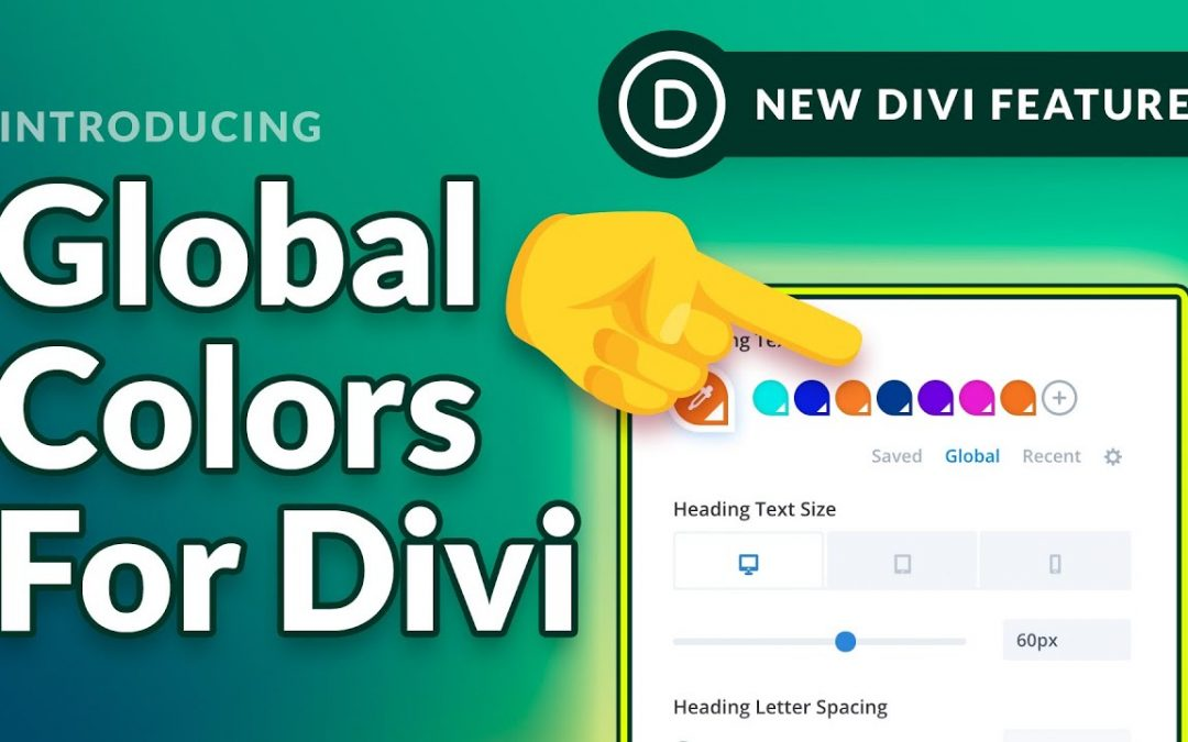 Introducing Divi's Global Color System!