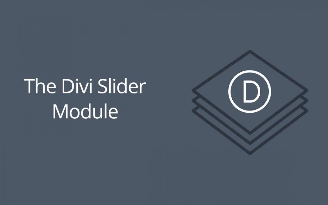 The Divi Slider Module
