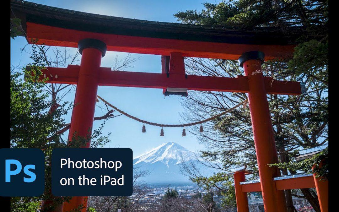 Photoshop on the iPad Sneak Peek: Camera raw editing