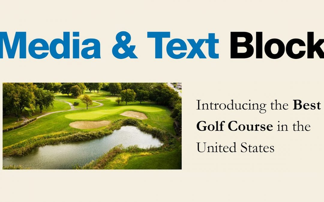 How to Use the WordPress Media and Text Block