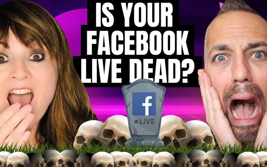Is Facebook Live Streaming Dead?  With guest host Jenny Quinn